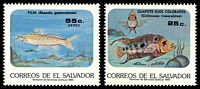 Lot 20986 [2 of 2]:1985 Fresh Water Fishes SG #1894-9 set of 6.