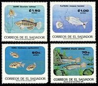 Lot 20986 [1 of 2]:1985 Fresh Water Fishes SG #1894-9 set of 6.
