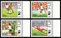 Lot 3548:1989 World Cup Soccer 1990 SG #798-801 set of 4.