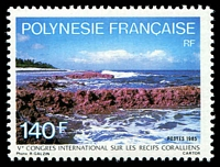 Lot 4065:1985 5th International Coral Reefs Congress SG #451 140f.