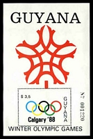 Lot 22716:1988 Winter Olympic Games Calgary '88 $3.50 M/sheet, Sc #1990.