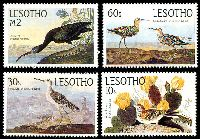 Lot 22470 [1 of 2]:1985 Bicentenary of John Audubon SG #646-51 set of 6.