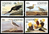 Lot 4046 [1 of 2]:1985 Bicentenary of John Audubon SG #646-51 set of 6.