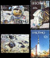 Lot 3804 [2 of 2]:1989 20th Anniversary of Moon Landing SG #915-22 set of 8.