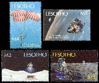 Lot 3804 [1 of 2]:1989 20th Anniversary of Moon Landing SG #915-22 set of 8.