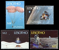 Lot 3885 [1 of 2]:1989 20th Anniversary of Moon Landing SG #915-22 set of 8.