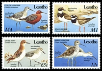 Lot 22472:1989 Migrant Birds SG #910-3 set of 4.