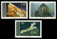 Lot 4286:1989 Minerals SG #984-6 set of 3.