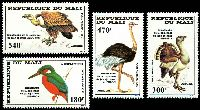 Lot 25641:1985 Audubon Birth Bicentenary SG #1073-6 set of 4, Cat £18.