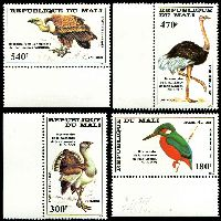 Lot 25640:1985 Audubon Birth Bicentenary SG #1073-6 set of 4, Cat £18.