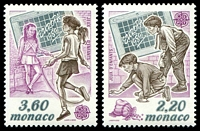 Lot 4370:1989 Europa - Childrens Games SG #1947-8 set of 2.