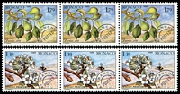 Lot 4121 [2 of 2]:1989 Precancels - Seasons of the Pear Tree SG #1952-5 set of 4 in strips of 3, Cat £12.75.