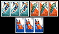 Lot 4098 [2 of 2]:1988 Winter Olympic Games, Calgary SG #1911-7 set of 7 in strips of 3.