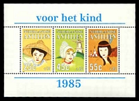 Lot 26080:1985 Child Welfare SG #897 M/sheet of SG #894-6.