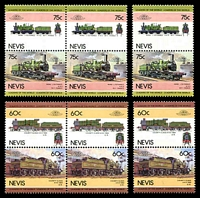 Lot 4203 [2 of 3]:1989 Leaders of the World - Railway Locomotives SG #352-9 set of 8 x3.