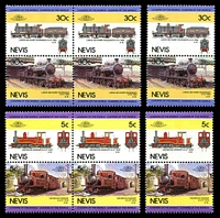Lot 26114 [3 of 3]:1989 Leaders of the World - Railway Locomotives SG #352-9 set of 8 x3.