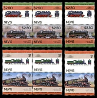 Lot 4203 [1 of 3]:1989 Leaders of the World - Railway Locomotives SG #352-9 set of 8 x3.