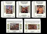 Lot 25089 [3 of 3]:1985 Easter - Paintings By Raphael SG #1789-93 set of 5 x3.