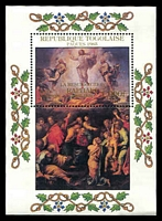 Lot 4637:1985 Easter - Paintings By Raphael SG #1794 1000fr M/sheet.