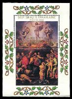 Lot 4427:1985 Easter - Paintings By Raphael SG #1794 1000fr M/sheet.