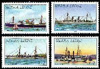 Lot 4611 [1 of 4]:1984 History of Shipping SG #820b-33b set of 13, Cat £19.