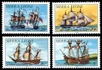 Lot 4308 [3 of 4]:1984 History of Shipping SG #820b-33b set of 13, Cat £19.