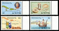 Lot 27704:1989 500th Anniv. of Discovery of America SG #291-4 set of 4, Cat £19.