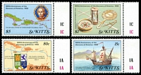 Lot 27703:1989 500th Anniv. of Discovery of America SG #291-4 set of 4, Cat £19.