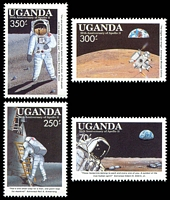 Lot 29014:1989 20th Anniv of First Manned Landing on Moon SG #736-43 set of 8, Cat £15.
