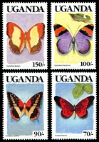 Lot 29130 [2 of 4]:1989 Butterflies SG #745-58 set of 14, Cat £16.