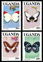 Lot 29130 [3 of 4]:1989 Butterflies SG #745-58 set of 14, Cat £16.