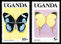 Lot 29130 [4 of 4]:1989 Butterflies SG #745-58 set of 14, Cat £16.