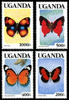 Lot 29016:1989 Butterflies SG #745-58 set of 14, Cat £16.