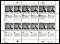 Lot 28514 [1 of 2]:1989 Universal Declaration of Human Rights SG #G180-1 2 Sheetlets of 12 stamps & se-tenant labels.