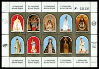 Lot 29441:1985 2000th Birth Anniv of Virgin Mary SG #2538a Sheetlet