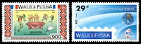Lot 4518:1989 Philex France 89 & Bicentenary of Declaration of Rights of Man SG #548-9 29f & 900f, Cat £19.