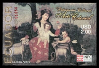 Lot 4000:2005 Colonial Religious Art $2 M/Sheet, unrecorded SG.