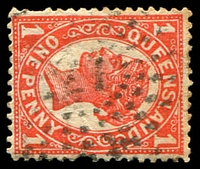 Lot 8003:21: rays on 1d 4-Corners.  Allocated to Adavale-PO 1/1/1881; closed 1/2/1991.