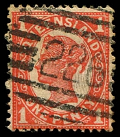 Lot 8193:226: BN on 1d 4-Corners.  Allocated to Albion-PO 1/11/1876.