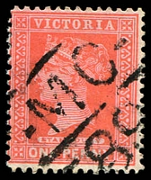 Lot 2149:1189: 'MC/89' on 1d pink.  Allocated to Scott's Marsh-PO 9/8/1880; renamed Scotsburn PO 1/11/1889; closed 30/4/1971.