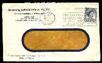 Lot 4961:Armstrong, Ledlie & Stillman Pty Ltd window-faced cover for General Merchants and Importers, franked with 5d blue QEII, 24 Apr 1962 Cairns slogan cancel.