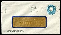 Lot 3765:1960 5d Light Blue QEII Small Die BW #ES98 window-faced cover for No. 28 Paisley St, Footscray, cancelled with 31 Jan 1963 Footscray slogan.