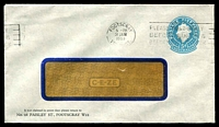 Lot 659:1960 5d Light Blue QEII Small Die BW #ES98 window-faced cover for No. 28 Paisley St, Footscray, cancelled with 31 Jan 1963 Footscray slogan.