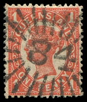 Lot 1518:84: rays on 1d 4-Corners.  Allocated to Springsure-PO 1/1/1864.