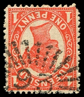 Lot 1429:93: rays on 1d 4-Corners.  Allocated to Jondaryan-PO 1/3/1867.