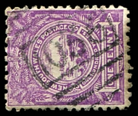 Lot 6063:1036: BN on 1d Centennial.  Allocated to Katoomba-RO 1/2/1879; PO 16/8/1880.