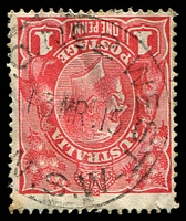Lot 1485:West: 27mm '[T.P].O.NO2.WEST/13MR.15/N