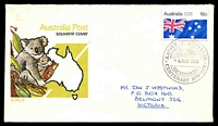 Lot 4891:1978 Centenary of Xavier College, Kew pictorial 'XAVIER COLLEGE/{shield}/6MAY1978/KEW VICTORIA 3101/CENTENARY 1878 - 1978' on 18c Australia Day on illustrated APO cover, Cat #45, neatly addressed, small tone.