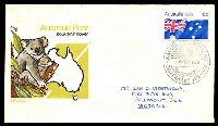 Lot 4680:1978 Centenary of Xavier College, Kew pictorial 'XAVIER COLLEGE/{shield}/6MAY1978/KEW VICTORIA 3101/CENTENARY 1878 - 1978' on 18c Australia Day on illustrated APO cover, Cat #45, neatly addressed, small tone.