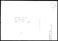 Lot 7502:Gold Coast Mail Centre: - 'GOLD COAST MAIL CENTRE/PAID/QLD. AUST .4217' on A4 cover dated 13 Oct 2003.